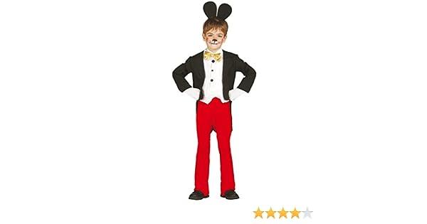 Guirca grafoplas SL. – Traje Mickey Mouse bmbino 7/9 años, Color ...
