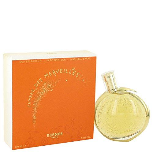 Hermës L'ämbre Dės Merveílles Perfumë For Women 3.3 oz Eau De Parfum Spray + FREE Shower Gel Eau Des Merveilles Body
