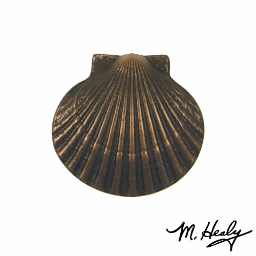 Scallop Bay (Bay Scallop Doorbell Ringer - Oiled Bronze)