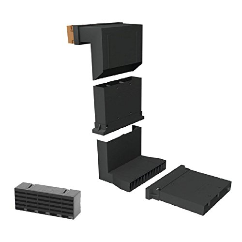 Vent Extension - Timloc Telescopic Underfloor Cavity Vent With Extension Sleeves Air Brick Black