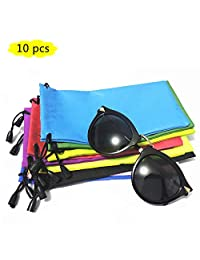 Glasses Bag Pouch,Microfiber Sunglasses/Jewelry/Gadgets Bags for Cleaning and Storage