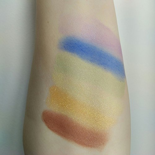 Rainbow Brights Loose Eye Shadow Gift Set by Krucial Cos