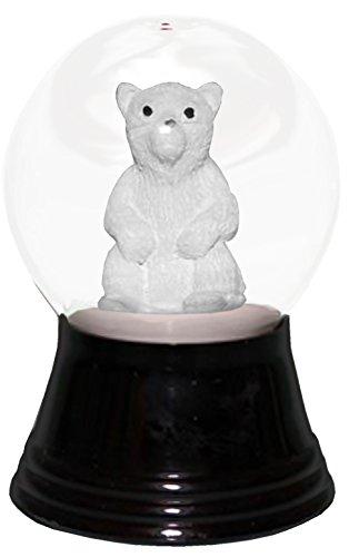 Alexander Taron Importer PR1290 Perzy Decorative Snowglobe with Small Polar Bear, 2.75'' x 1.5'' x 1.5'' by Alexander Taron Importer