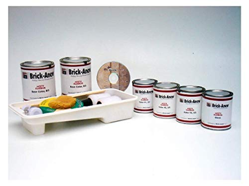 Brick-Anew All-in-One Brick Fireplace Paint Kit (Twilight Taupe) (Best Paint For Interior Brick Fireplace)