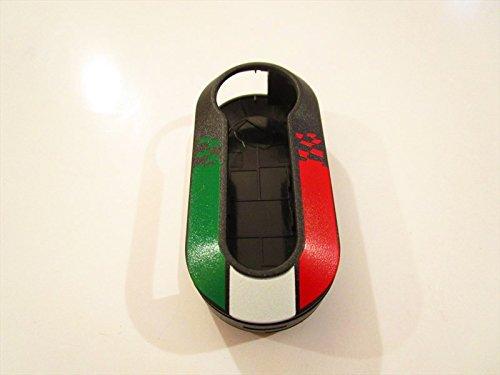 20 opinioni per COVER CHIAVE ITALIA FIAT 500 PUNTO EVO BRAVO PANDA 500L GUSCIO LOGO NERO new