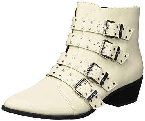 Studded Short Boot - Circus by Sam Edelman Women's Hutton Fashion Boot, Modern Ivory Waxy, 7.5 M US