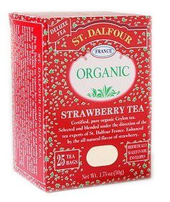 (St. Dalfour Organic Tea - Strawberry - 25 ct )