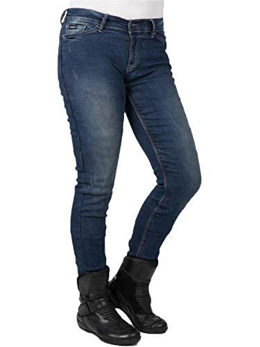 Vintage 6 Long 38 Bull Moto Femme Slim Bleu Us Jean Eu Sp120 It Bleu q0wHwx7CI