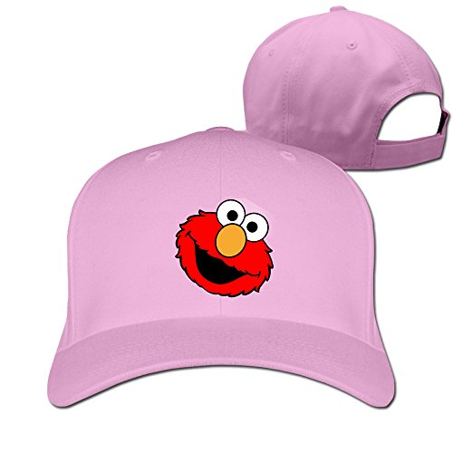 Elmo Hats (The Popular Cute Red Muppet Elmo Peaked Cap Pink)