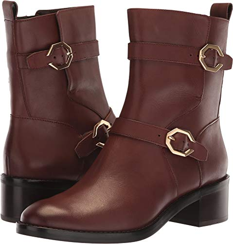 Cole Haan Chocolate (Cole Haan Women's Leela Grand Moto Boot Bitter Chocolate 7 B US)
