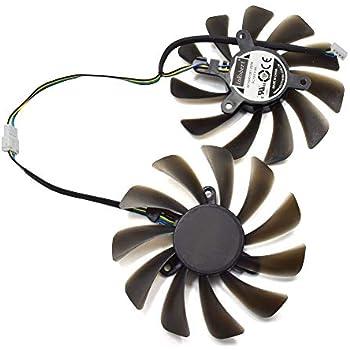 inRobert DIY Graphic Card Cooler Fan for ZOTAC GeForce GTX 1080 Ti AMP Edition GPU ZT-P10810D-10P