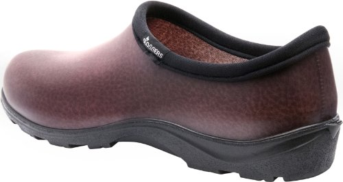 Sloggers 5301BN10 Men's Rain and Garden Shoes with Comfort Insole, Size 10, Brown