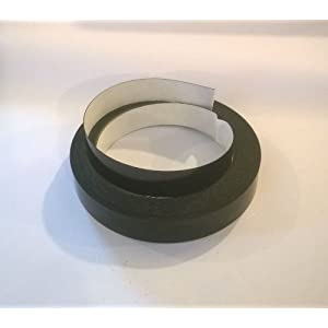 Self Adhesive cabinet edging tape Black effect 20m