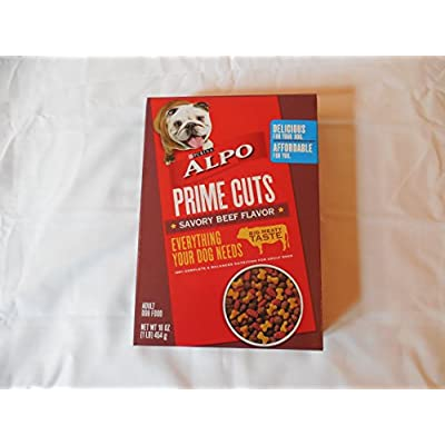 Purina ALPO Prime Cuts Savory Beef 16oz box