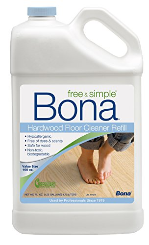 Bona® 160oz Free & Simple Hardwood Floor Cleaner Refill ()