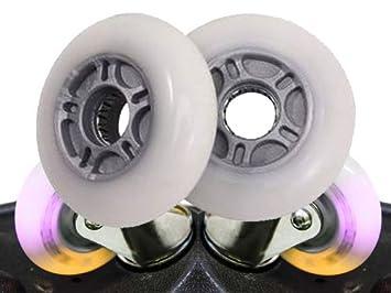 2 ruedas de repuesto para waveboard con 80 x 24 mm, sin almacenamiento, dureza media: Amazon.es: Deportes y aire libre
