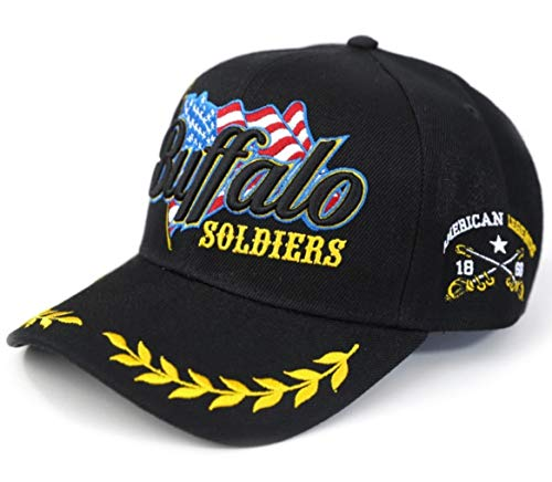 Buffalo Soldiers US Army Adjustable Cap - Buffalo Cap Soldiers