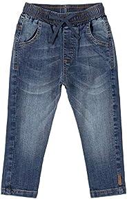 Calça Jeans com Lavagem, Up Baby, Meninos