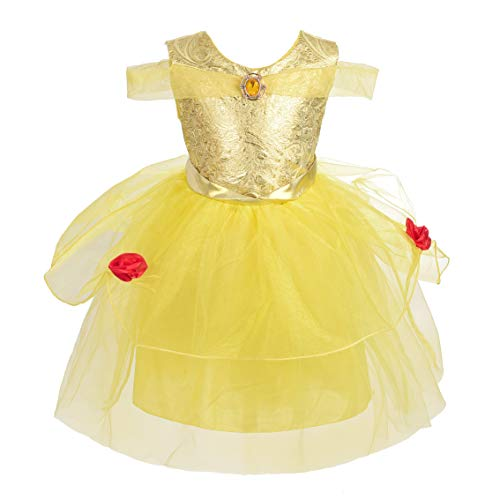 Dressy Daisy Baby Toddler Girl Princess Belle Dress