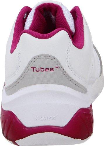 Mouette K Pour Chaussure Tubes Tennis swiss Blanc Magenta Femme De Gris EgxFqPv