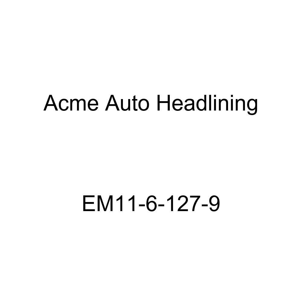 Acme Auto Headlining EM11-6-127-9 Red Replacement Headliner 1939 Buick Roadmaster Series 80 4 Door Sedan - 8 Bows