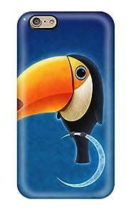 2800539K25911606 New Premium Flip Case Cover Toucan Bird Skin Case For Iphone 6