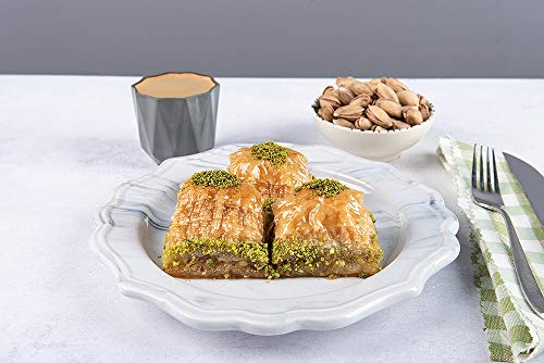 Ali's Gourmet Antep Baklava with Pistachios 1LB | Buy 2 Get 1 for Free! Only For a Limited Time!