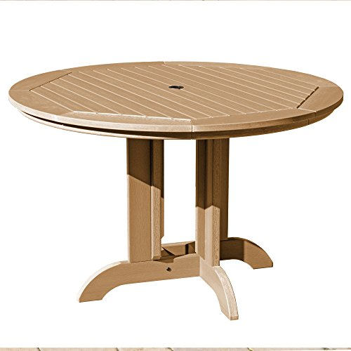 Highwood AD-DRT48-TFE Round Dining Table, 48