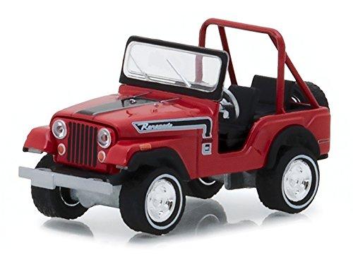 1974 Jeep CJ-5 Renegade Red with Black Stripes