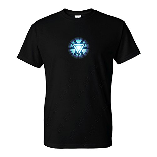 FIVE UP TEES Arc Reactor T-Shirt (XL, (Mens Reactor)