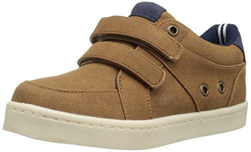 Nautica Boys' Elijah Toddler Sneaker, Tan, 12 M US Little Kid