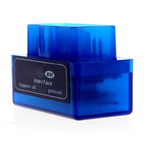 Diagnosis Scaner Tester OBD II Mini Bluetooth Unversal para Coche: Amazon.es: Coche y moto