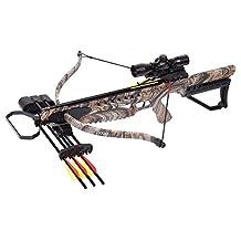 CenterPoint Archery AXRT175CK4X Tyro 4X Crossbow Camo Camouflage