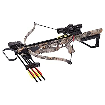CenterPoint Tyro 4X Crossbow Package, Camo