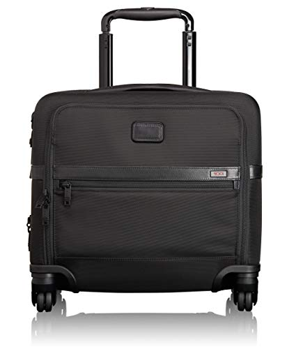 Business 4 Wheel Compact Brief, Black, One Size ()