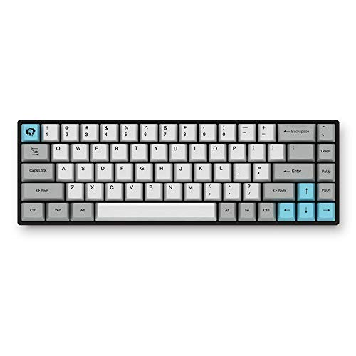 AKKO 3068 - Silent Bluetooth Wired Dual Mode PBT Keycap Cherry Switch Mechanical Keyboard (Red Switch)