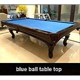 Mesa de Billar Snooker modelo Leopold 9 pies 40 mm de pizarra, alrededor de 570 kg de madera maciza de haya: Amazon.es: Deportes y aire libre
