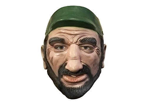 [Fidel Castro MASK for Halloween by Make It Count] (Fidel Castro Costume Halloween)