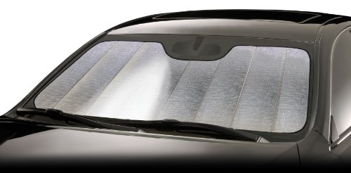 Intro-Tech PN-23-R Ultimate Reflector Custom Fit Folding Windshield Sunshade for select Pontiac Grand Am Models, Silver