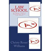 Law School (10 Things I Wish I Had Known About Law School)