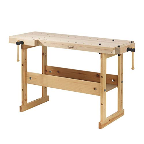 3281 Hobby Plus 1340 Birch Workbench, a Vice That Fits Any Budget ()