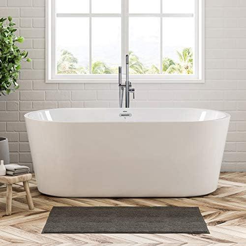 FerdY Shangri-La 59″ Acrylic Freestanding Bathtub