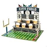 Football Stadium Cupcake Holder