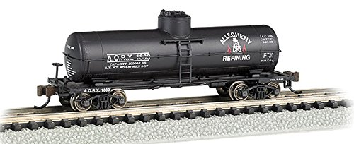Bachmann Industries Allegheny Refining ACF 10,000 Gallon Single-Dome Tank Car (N Scale), 36'-6