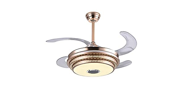 Ventiladores para el techo con lámpara Arte LED Ventiladores de ...