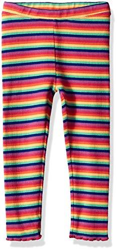 - Gymboree Girls' Big Knit Legging, Rainbow Rib 3T