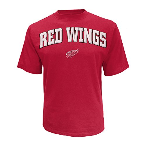NHL Detroit Red Wings Men's Cotton Tee, X-Large, Red
