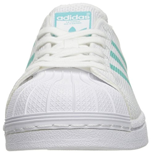 Adidas Superstar White Femme Mint Basses Sneakers W easy white rrwXqSd