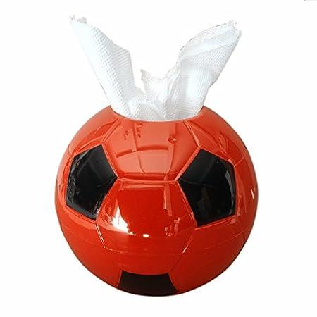 solesu Creative diseño de balón de fútbol con soporte caja de ...