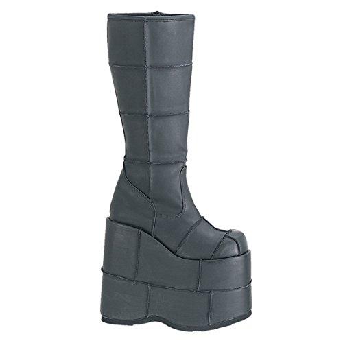 Pleaser Men's Stack-301 Platform Boot,Black PU,11 M